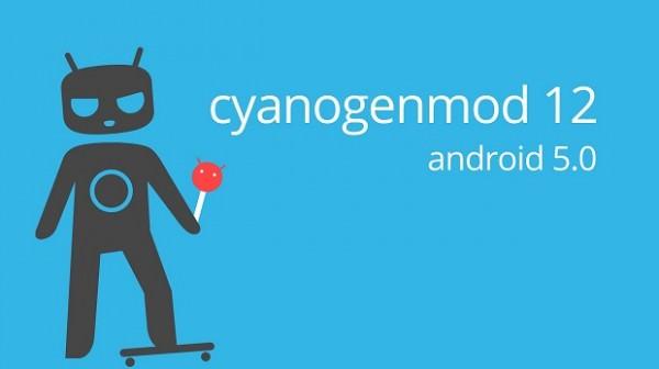 Här är nya bootanimationen för CyanogenMod 12
