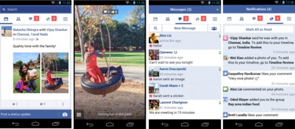 Facebook släpper nedbantad Androidapp i vissa regioner