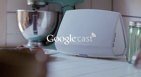 Sökjätten tillkännager Google Cast för ljud