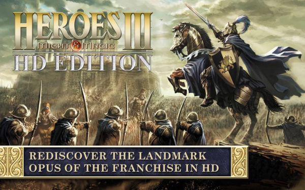 Heroes of Might and Magic III nu i Google Play