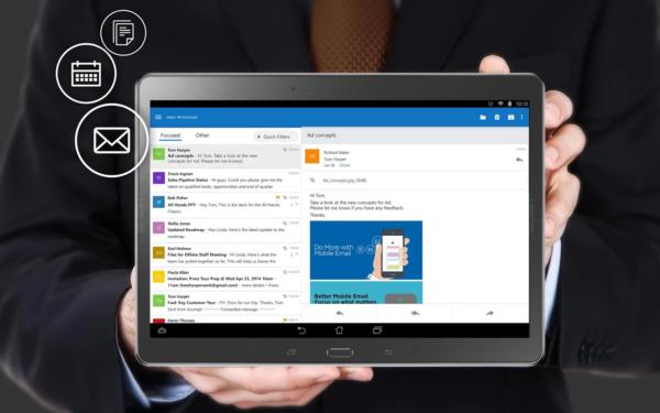Microsoft släpper ny Outlook-app för Android