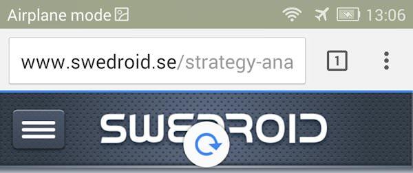 Senaste versionen av Chrome Beta förenklar uppdatering av sidor