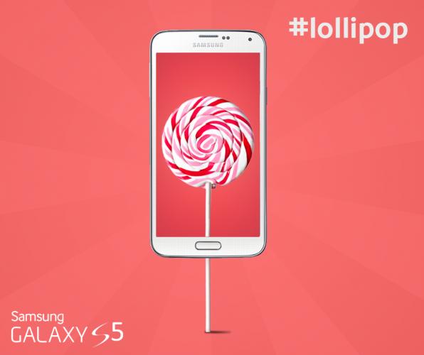 Samsung Galaxy S5 uppdateras till Lollipop i Sverige