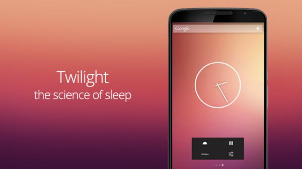 Twilight filtrerar bort blått ljus, vill hjälpa dig sova bättre