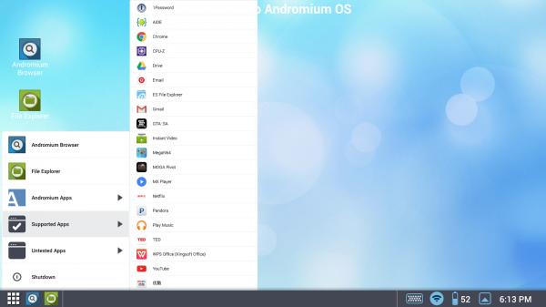 Andromium vill förvandla våra mobiler till datorer – finns i Google Play
