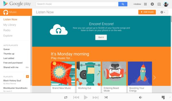 Nu kan vi lagra 50 000 låtar gratis på Google Play Music