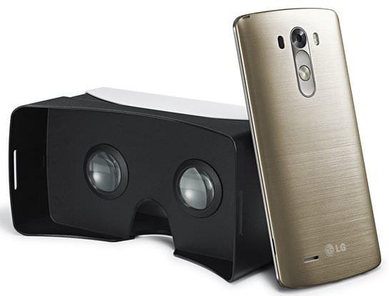 LG skapar VR-headset för toppmodellen G3