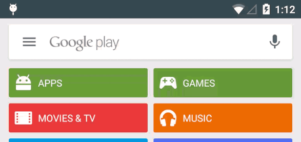 Play Store-appen får snart dedikerat sökfält