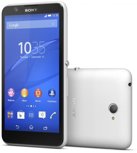 Sony presenterar budgetmobilen Xperia E4