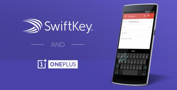 OnePlus tillkännager samarbete med SwiftKey