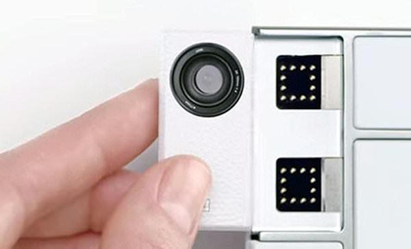 Toshiba visar kameramoduler för Project Ara