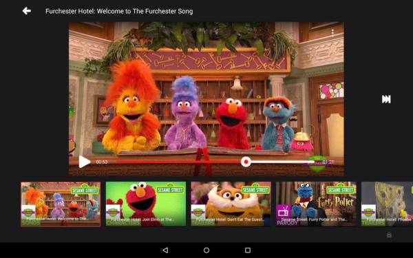 Google släpper YouTube Kids, är regionbegränsad