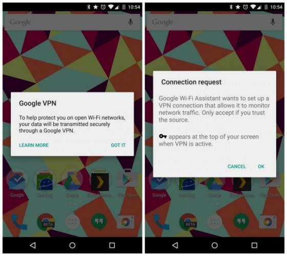 Android kan få egen VPN-tjänst, har upptäckts i version 5.1