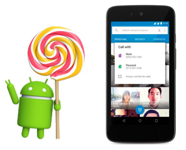 Google lanserar version 5.1 av Android Lollipop