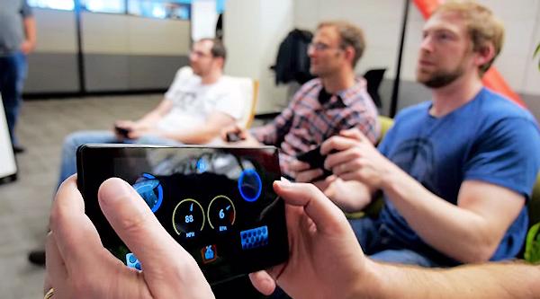Snart kan mobiler användas som spelkontroller för Android TV