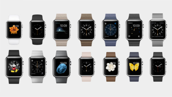 Apple presenterar sin första smartklocka Watch