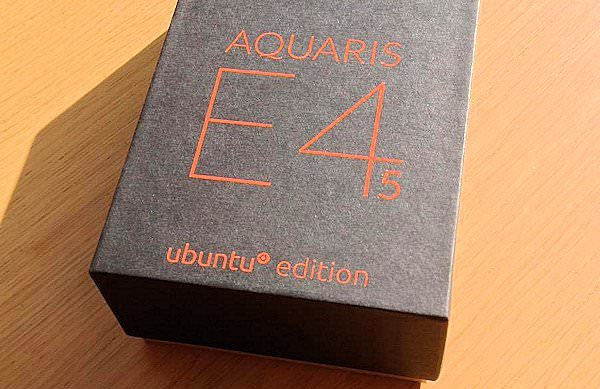 Ubuntu-mobilen Aquaris E4.5 levereras nu till kunder