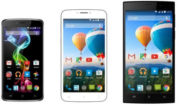 Archos presenterar nya smartphones under MWC