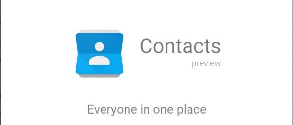 Google gör om sin kontaktlista från grunden, går att testa idag