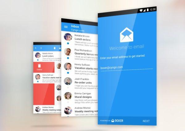 Boxer blir ny mejlapplikation i Cyanogen OS 12