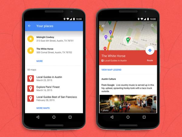 Google Maps kan  nu visa våra egna kartor