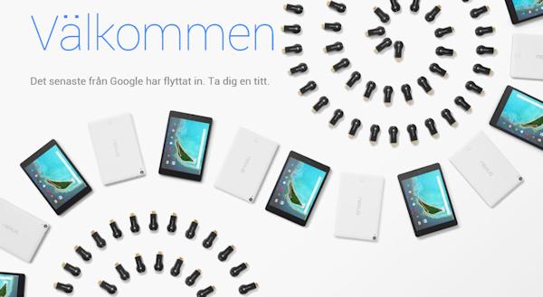 Google Store är sökjättens nya hårdvarubutik