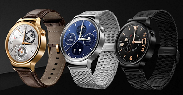 Huawei presenterar runda smartklockan Watch