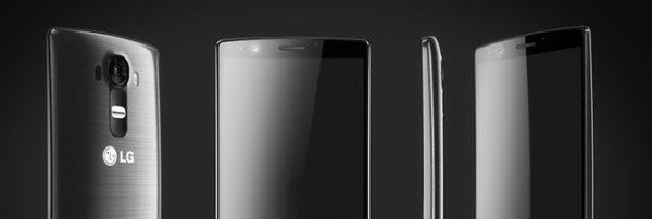 LG G4 är tillverkad av plast, inte metall