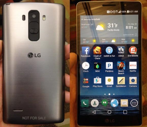 Bilder på okänd LG-telefon hamnar på webben