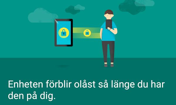 Android 5.0 får ny Smart Lock-funktion, förblir upplåst när du rör dig