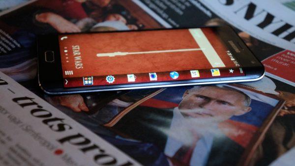 Vi testar ovanliga sidoskärmen i Galaxy Note Edge