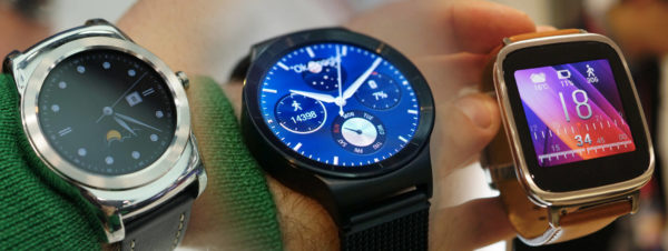 Bildgalleri: LG Watch Urbane, Huawei Watch och Asus ZenWatch på MWC 2015
