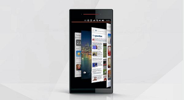 Videodemo av Ubuntu för telefoner
