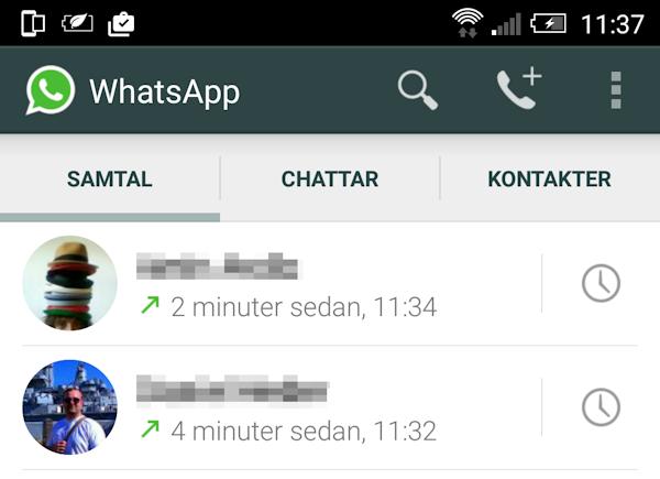 Nu kan alla ringa med WhatsApp