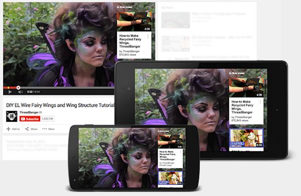 Ny funktion i YouTube visar informationskort ovanpå videor