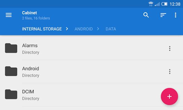 Använder du en filhanterare för Android?
