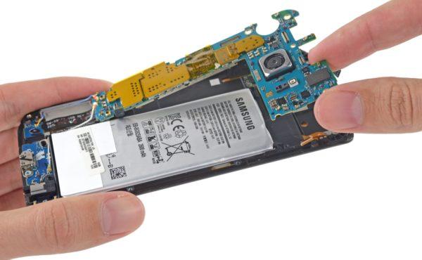 Även Samsung Galaxy S6 Edge får lågt betyg av IFixIt