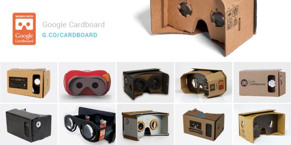 Google satsar vidare på Cardboard, fler VR-enheter är att vänta