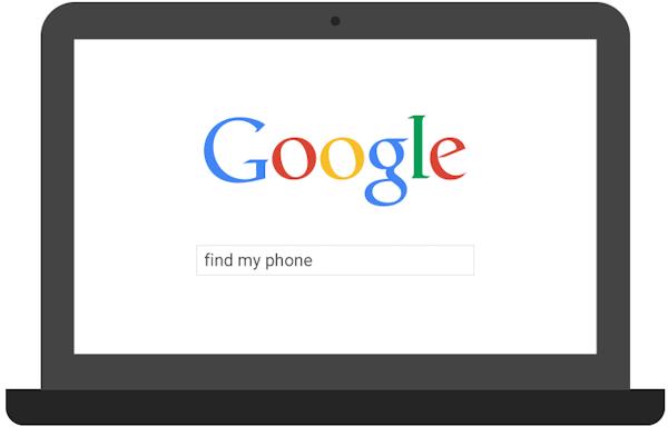 Nu kan du Googla för att hitta din telefon