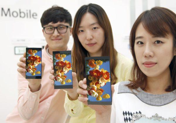 LG introducerar ny 5,5-tumsskärm med WQHD, sitter i G4