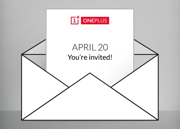 OnePlus bjuder in till… något 20:e april