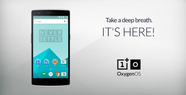 OnePlus släpper egna gränssnittet OxygenOS