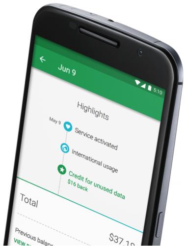Google introducerar Project Fi för Nexus 6, en ny operatörslösning