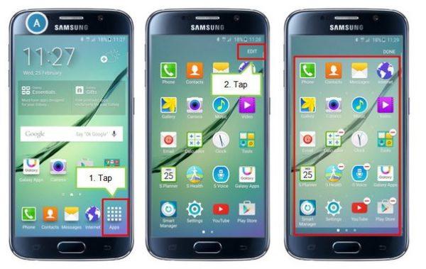 Samsung: Därför saknas bokstavssortering i Galaxy S6/S6 Edge