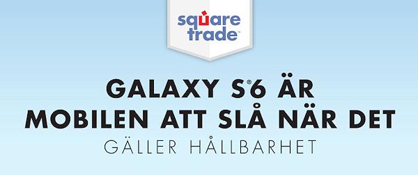 Samsung Galaxy S6 är tåligaste mobilen i test av SquareTrade