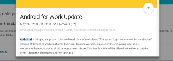 Indikation på att Android M kommer i slutet av maj under Google I/O