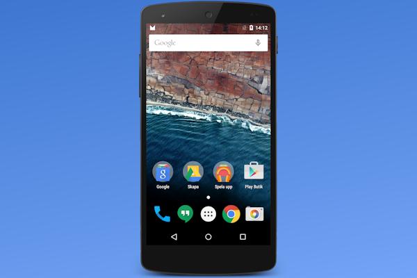 Vi testar Android M: Nya hemskärmen