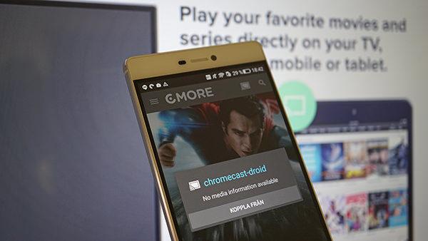 C More stödjer nu Google Chromecast