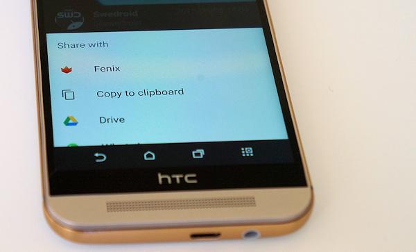 Vad tycker du om delningsmenyn i Android Lollipop?