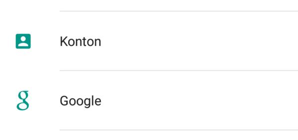 Vi testar Android M: Google får egen meny bland inställningarna